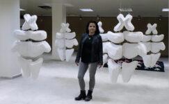 Sanatçı Firdevs Sağlam'dan Kadının Topografisi…