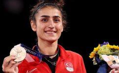 Olimpik Anneler sporcularından Hatice Kübra İlgün, Bronz Madalya kazandı
