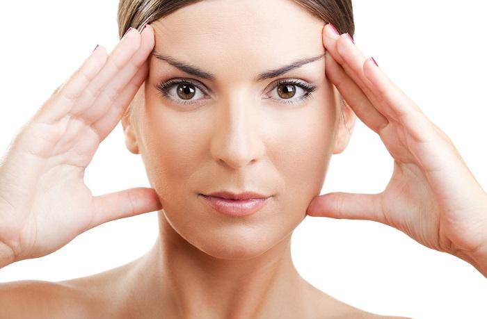 Yüz Yogası Yapın Kırışıklıklar Azalsın
