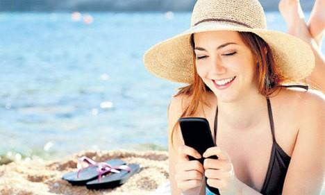 Tatilde de Teknolojiden Kopamıyoruz!
