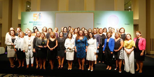 En Güçlü 50 Kadın CEO Ödüllerini Aldı…