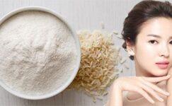 Pirinç Maskesi Faydaları… Pirinç Maskesi ile Daha Genç Cilt…