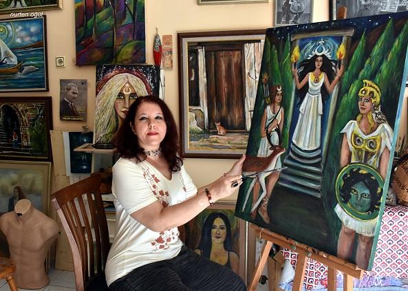 Ressam Evrim Gökçelik: Bana göre her şeyin bir ruhu var!
