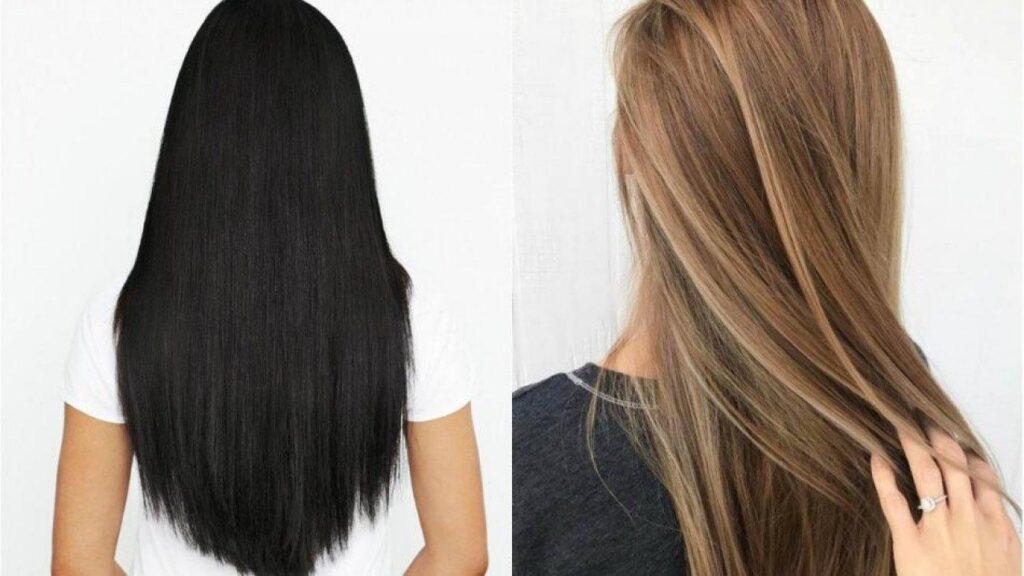 Saç rengi açmanın doğal yolları… Saçı siyah olanlara özel…